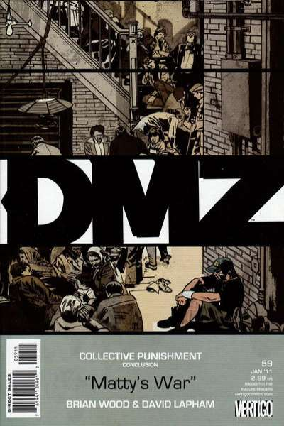 DMZ #59 comic books for sale