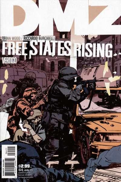 DMZ #64 comic books for sale