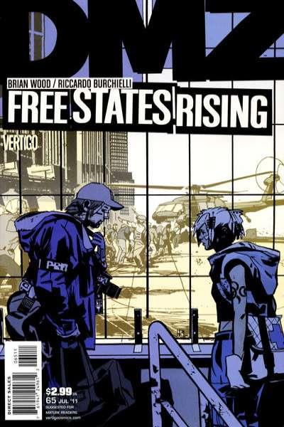 DMZ #65 comic books for sale
