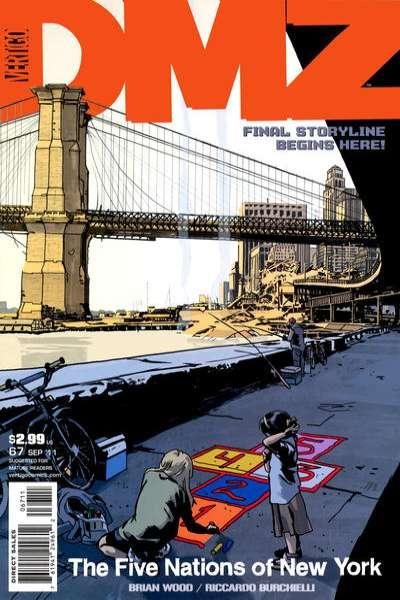 DMZ #67 comic books for sale