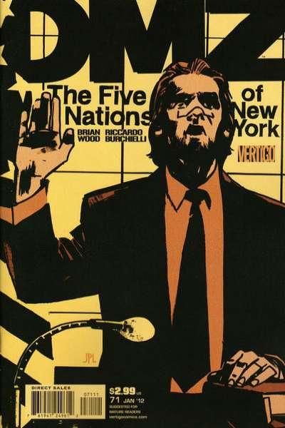 DMZ #71 comic books for sale