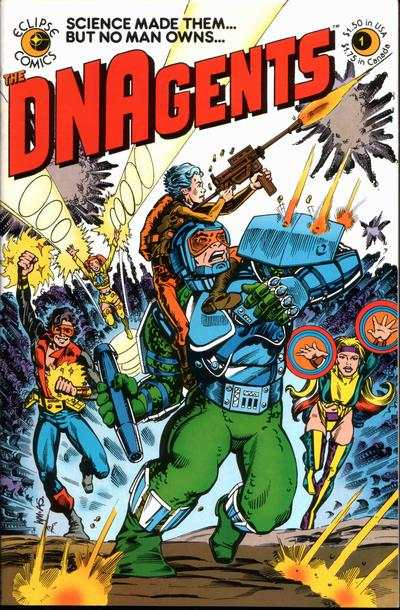 DNAgents #1 Comic Books - Covers, Scans, Photos  in DNAgents Comic Books - Covers, Scans, Gallery