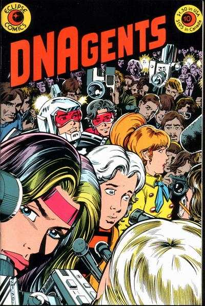 DNAgents #10 Comic Books - Covers, Scans, Photos  in DNAgents Comic Books - Covers, Scans, Gallery