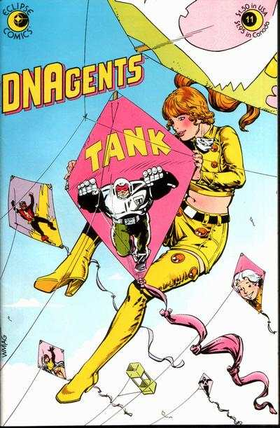 DNAgents #11 comic books - cover scans photos DNAgents #11 comic books - covers, picture gallery