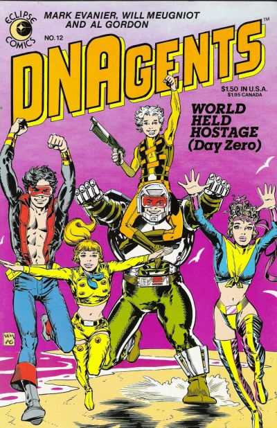 DNAgents #12 Comic Books - Covers, Scans, Photos  in DNAgents Comic Books - Covers, Scans, Gallery