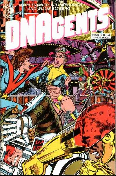 DNAgents #14 comic books - cover scans photos DNAgents #14 comic books - covers, picture gallery