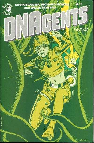 DNAgents #15 cheap bargain discounted comic books DNAgents #15 comic books