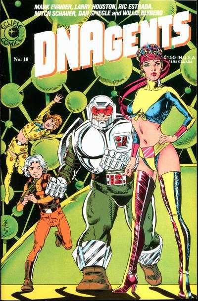 DNAgents #16 comic books - cover scans photos DNAgents #16 comic books - covers, picture gallery