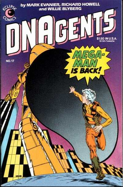 DNAgents #17 Comic Books - Covers, Scans, Photos  in DNAgents Comic Books - Covers, Scans, Gallery