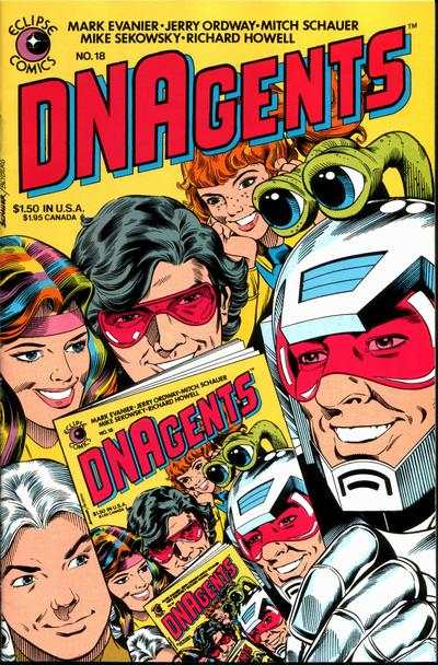 DNAgents #18 comic books - cover scans photos DNAgents #18 comic books - covers, picture gallery