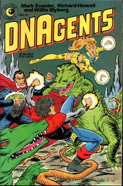 DNAgents #19 Comic Books - Covers, Scans, Photos  in DNAgents Comic Books - Covers, Scans, Gallery