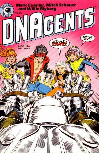 DNAgents #21 cheap bargain discounted comic books DNAgents #21 comic books