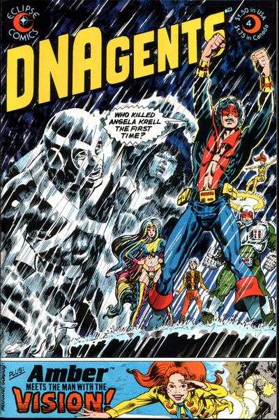 DNAgents #4 Comic Books - Covers, Scans, Photos  in DNAgents Comic Books - Covers, Scans, Gallery