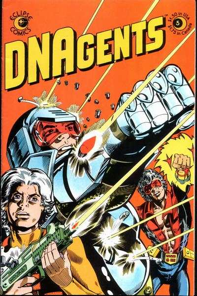 DNAgents #5 comic books - cover scans photos DNAgents #5 comic books - covers, picture gallery