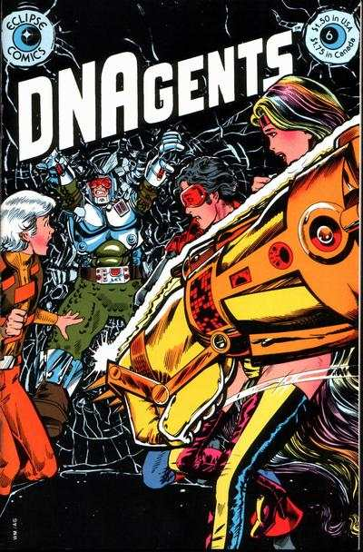 DNAgents #6 comic books - cover scans photos DNAgents #6 comic books - covers, picture gallery