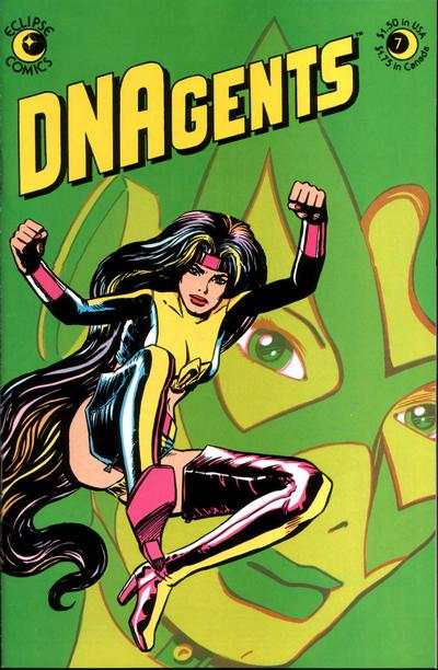 DNAgents #7 cheap bargain discounted comic books DNAgents #7 comic books