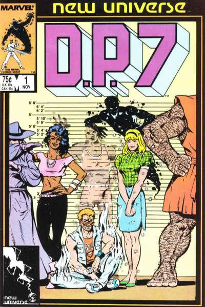 D.P. 7 # comic book complete sets D.P. 7 # comic books