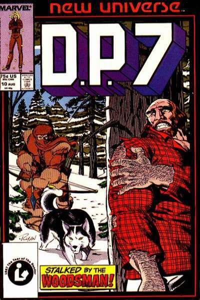 D.P. 7 #10 Comic Books - Covers, Scans, Photos  in D.P. 7 Comic Books - Covers, Scans, Gallery