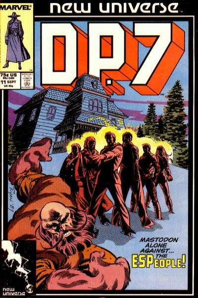 D.P. 7 #11 Comic Books - Covers, Scans, Photos  in D.P. 7 Comic Books - Covers, Scans, Gallery