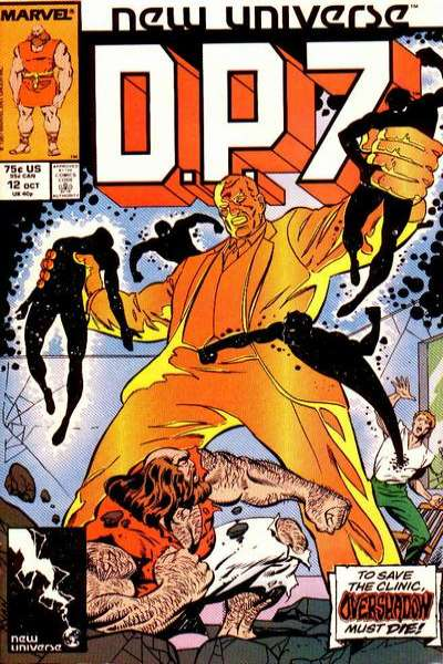 D.P. 7 #12 Comic Books - Covers, Scans, Photos  in D.P. 7 Comic Books - Covers, Scans, Gallery