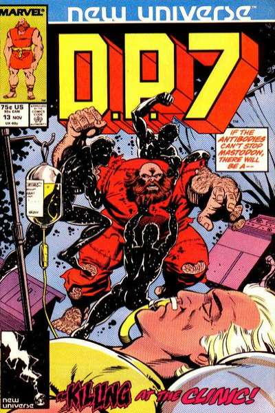 D.P. 7 #13 Comic Books - Covers, Scans, Photos  in D.P. 7 Comic Books - Covers, Scans, Gallery