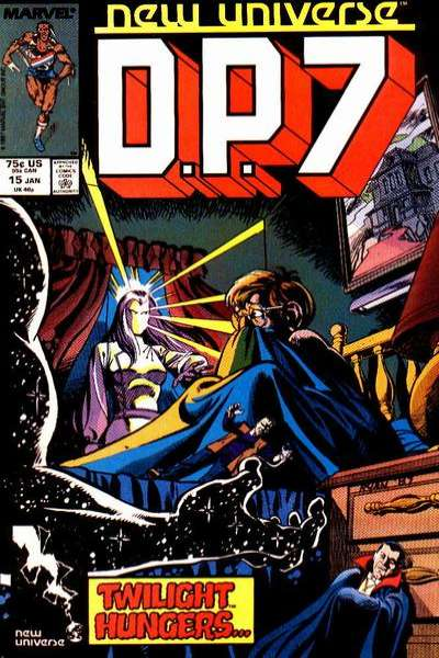 D.P. 7 #15 Comic Books - Covers, Scans, Photos  in D.P. 7 Comic Books - Covers, Scans, Gallery