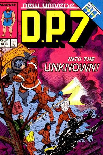 D.P. 7 #18 Comic Books - Covers, Scans, Photos  in D.P. 7 Comic Books - Covers, Scans, Gallery