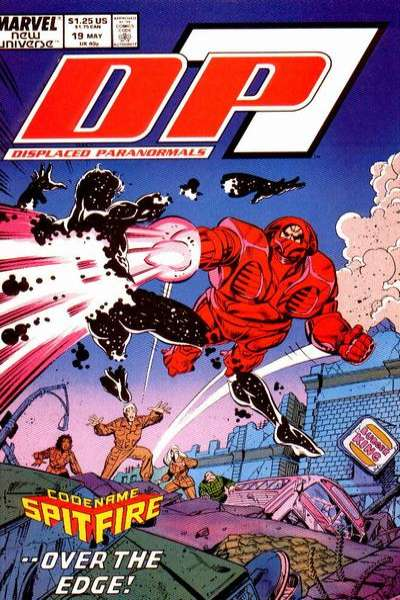 D.P. 7 #19 Comic Books - Covers, Scans, Photos  in D.P. 7 Comic Books - Covers, Scans, Gallery