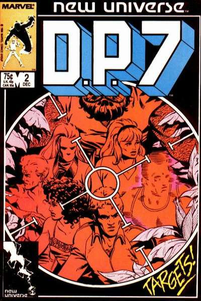 D.P. 7 #2 comic books for sale