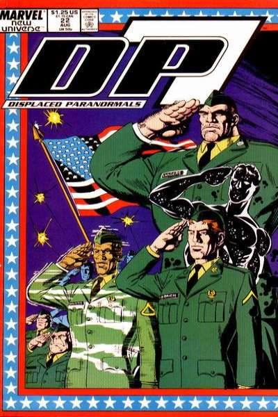 D.P. 7 #22 Comic Books - Covers, Scans, Photos  in D.P. 7 Comic Books - Covers, Scans, Gallery