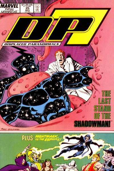 D.P. 7 #25 Comic Books - Covers, Scans, Photos  in D.P. 7 Comic Books - Covers, Scans, Gallery