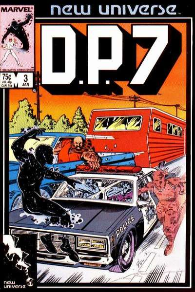 D.P. 7 #3 Comic Books - Covers, Scans, Photos  in D.P. 7 Comic Books - Covers, Scans, Gallery