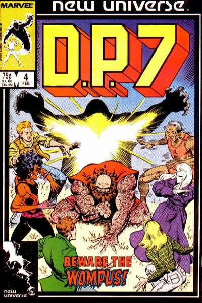 D.P. 7 #4 Comic Books - Covers, Scans, Photos  in D.P. 7 Comic Books - Covers, Scans, Gallery