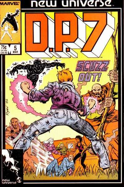D.P. 7 #5 Comic Books - Covers, Scans, Photos  in D.P. 7 Comic Books - Covers, Scans, Gallery