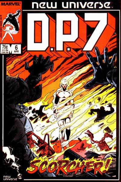 D.P. 7 #6 comic books for sale