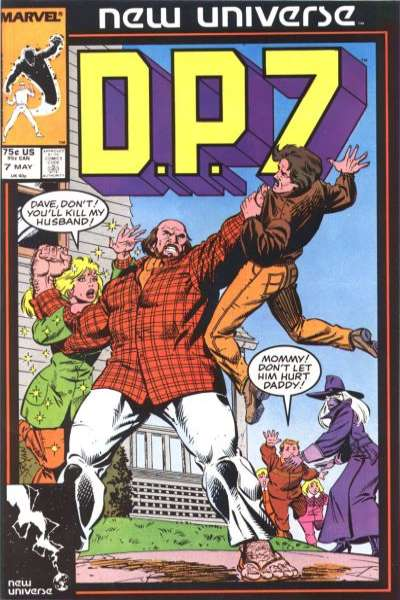 D.P. 7 #7 Comic Books - Covers, Scans, Photos  in D.P. 7 Comic Books - Covers, Scans, Gallery