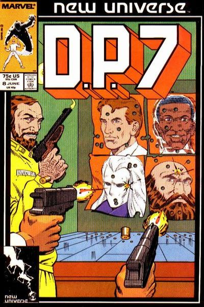 D.P. 7 #8 Comic Books - Covers, Scans, Photos  in D.P. 7 Comic Books - Covers, Scans, Gallery