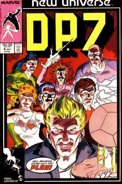 D.P. 7 #9 Comic Books - Covers, Scans, Photos  in D.P. 7 Comic Books - Covers, Scans, Gallery