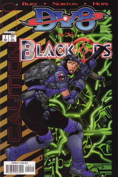 DV8 vs. Black Ops #2 comic books for sale