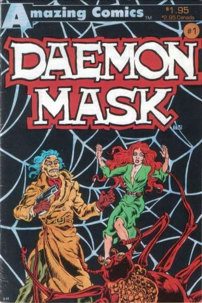 Daemon Mask #1 comic books - cover scans photos Daemon Mask #1 comic books - covers, picture gallery