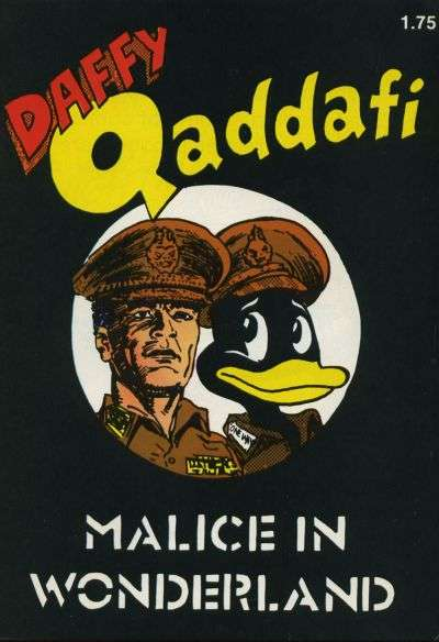 Daffy Qaddafi #1 comic books - cover scans photos Daffy Qaddafi #1 comic books - covers, picture gallery