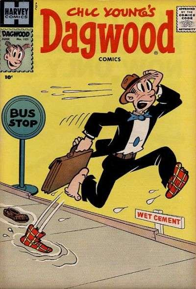 Dagwood #101 Comic Books - Covers, Scans, Photos  in Dagwood Comic Books - Covers, Scans, Gallery