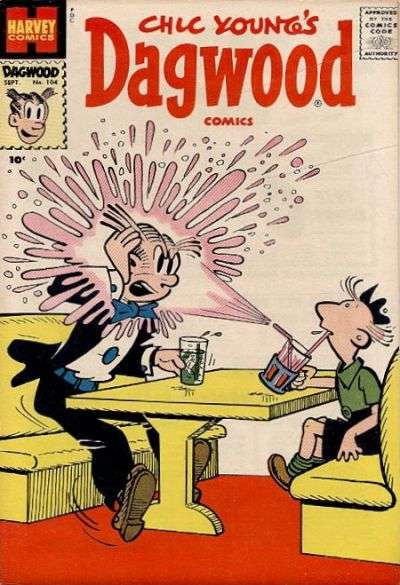 Dagwood #104 Comic Books - Covers, Scans, Photos  in Dagwood Comic Books - Covers, Scans, Gallery