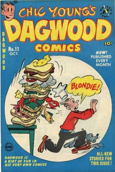 Dagwood #11 comic books for sale