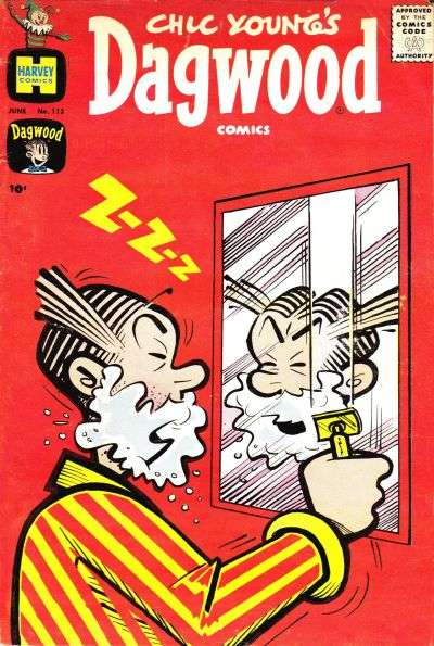 Dagwood #113 comic books - cover scans photos Dagwood #113 comic books - covers, picture gallery
