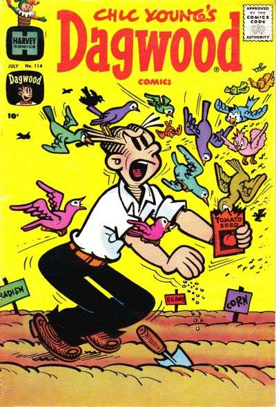 Dagwood #114 Comic Books - Covers, Scans, Photos  in Dagwood Comic Books - Covers, Scans, Gallery