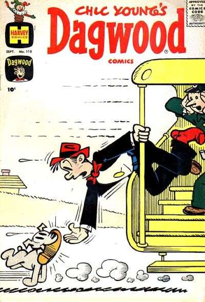 Dagwood #115 Comic Books - Covers, Scans, Photos  in Dagwood Comic Books - Covers, Scans, Gallery