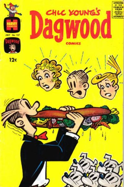 Dagwood #127 Comic Books - Covers, Scans, Photos  in Dagwood Comic Books - Covers, Scans, Gallery