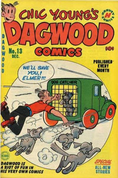 Dagwood #13 comic books - cover scans photos Dagwood #13 comic books - covers, picture gallery