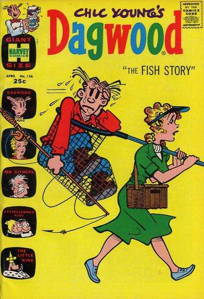 Dagwood #136 comic books - cover scans photos Dagwood #136 comic books - covers, picture gallery
